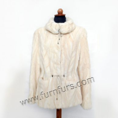 Light Color Mink fur Jacket