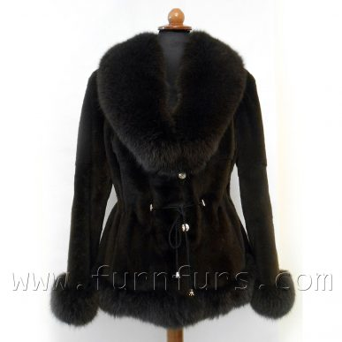 Weasel & Fox Fur Jacket
