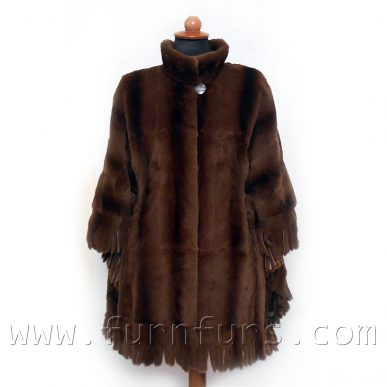Weasel Fur Cape