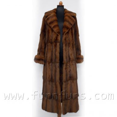 Petit Gris Fur Coat