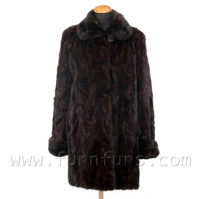 Mink Fur Semi-Coat