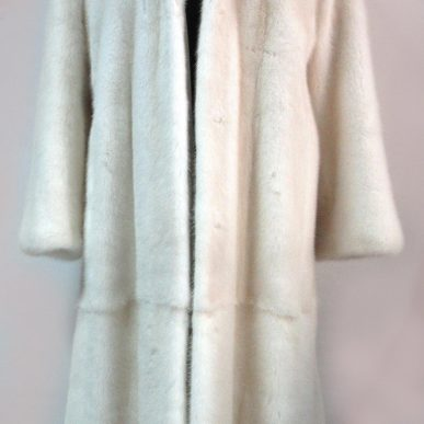 NAFA Mink Fur Coat with Hood