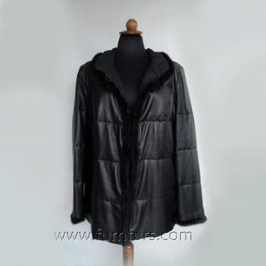 Double Face Lamb Leather Jacket