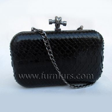 MARTA – Python Leather Purse
