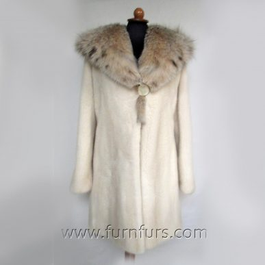 Hooded NAFA Mink Fur Coat