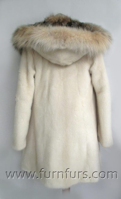 Nafa mink fur coat