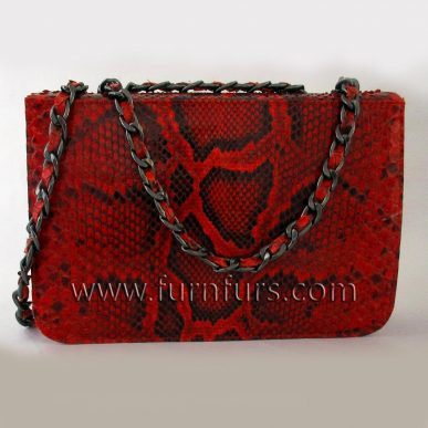 LUCIANA – Python Leather Bag