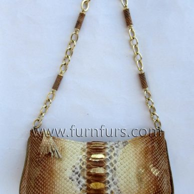 FIORE – Python Leather Bag