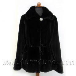 BLACKGLAMA Mink Fur Jacket