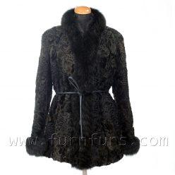 Astrakhan & Fox Fur Jacket