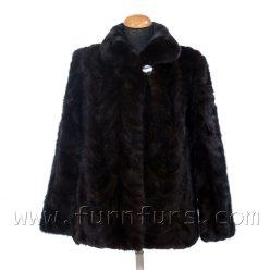 Short Mink Fur Jacket