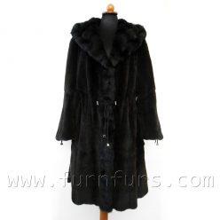 Hooded Weasel & Petit Gris Fur Coat
