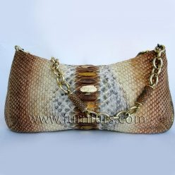 FIORE - Leather Python Bag